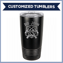 Firefighter Stainless Steel Tumbler