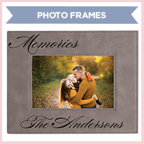 Leatherette Memories Photo Frame