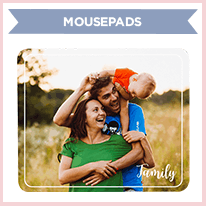 Family Photo Mouse Pad