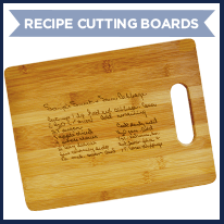 Upload Your Recipe Cutting Board