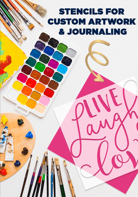 Stencils for Crafting & Journaling