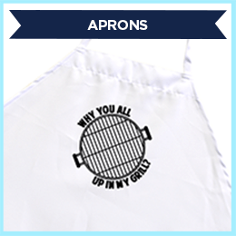 Up in My Grill Apron