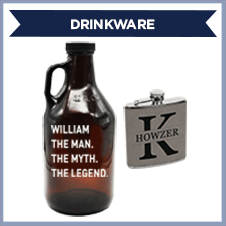Custom Father's Day Drinkware Gifts