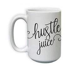 hustle juice mug