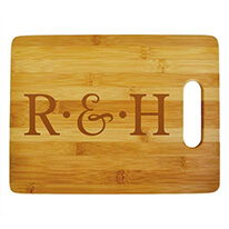Custom Initials Cutting Board